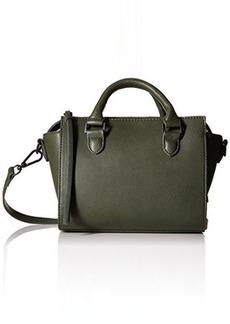 Steve Madden Bwilla Mini Crossbody Convertible Top Handle Bag, Green, One Size