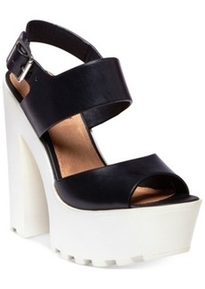Steve Madden by Iggy Azalea Get-It Platform Dress Sandals Women's Shoes