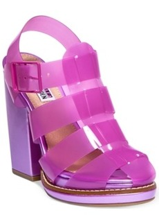 Steve Madden by Iggy Azalea Hi-Top Caged Platform Dress Sandals Women's Shoes
