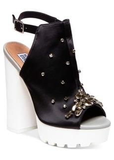 Steve Madden by Iggy Azalea Tempo-s Bling Platform Dress Sandals Women's Shoes