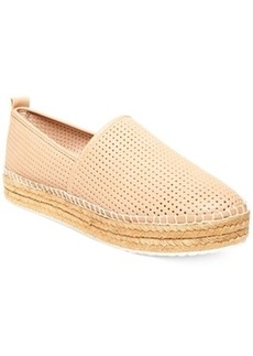 Steve Madden Choppur Perforated Espadrille Flats Women's Shoes