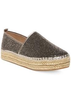 Steve Madden Choppur-r Rhinestone Espadrille Flats Women's Shoes