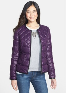 Steve Madden Collarless Packable Down Jacket