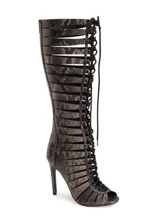 Steve Madden 'Cryptic' Lace-Up Tall Gladiator Sandal (Women)