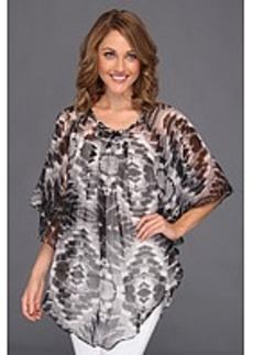Steve Madden Crystal Light Poncho Cover-Up