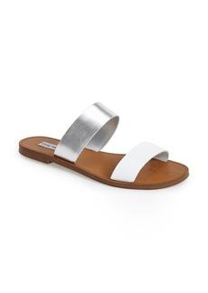 Steve Madden 'D-Band' Leather Slide Sandal (Women)