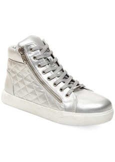 Steve Madden Decaf Hightop Quilted Platform Sneakers Women's Shoes