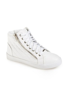 Steve Madden 'Decaf' Quilted High Top Sneaker (Women)