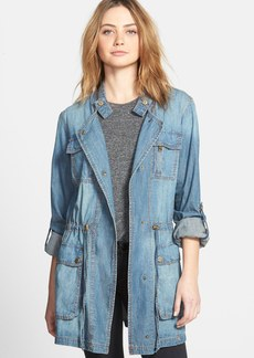 Steve Madden Denim Chambray Anorak
