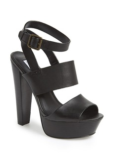 Steve Madden 'Dezzzy' Leather Ankle Strap Sandal (Women)