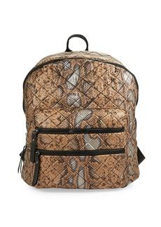 STEVE MADDEN Diamond Quilted Backpack