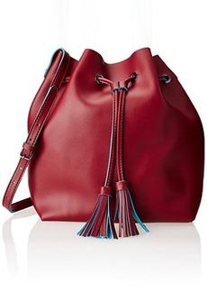 Steve Madden Drawstring Shoulder Bag, Red, One Size