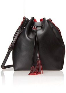 Steve Madden Drawstring Shoulder Bag, Black, One Size