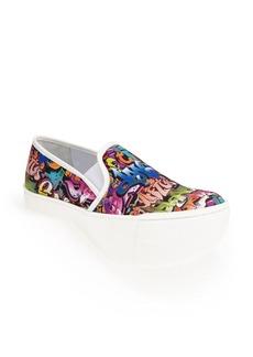 Steve Madden 'Ecentrcm' Graffiti Print Slip-On Sneaker (Women)