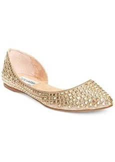 Steve Madden Eligant Embellished Flats Women's Shoes
