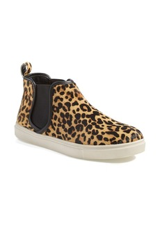 Steve Madden 'Elvinn' Leopard High Top Sneaker (Women)