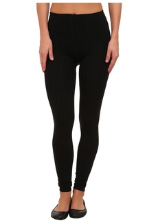 Steve Madden Fleece Lined Ribbed Legging