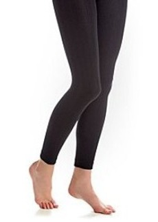 Steve Madden Footless Fleece Rib Tights