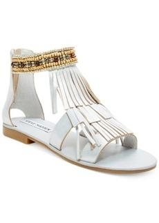 Steve Madden Giaani Fringe Flat Sandals Women's Shoes