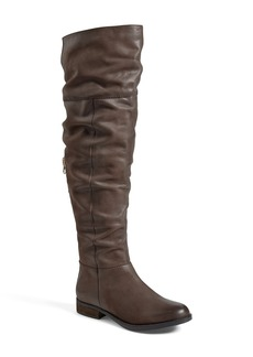 Steve Madden 'Heisnbrg' Leather Over the Knee Boot (Women) (Online Only)