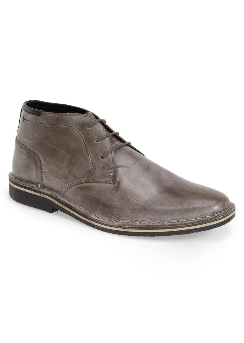 steve madden steve madden hestonn leather chukka boot