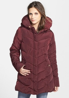 Steve Madden Hooded Quilted Coat