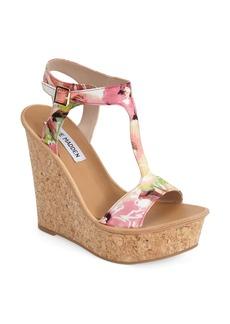 Steve Madden 'ILuvIt' T-Strap Wedge Sandal (Women)