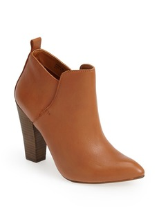 Steve Madden 'Jammie' Leather Pointy Toe Bootie (Women)