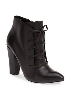Steve Madden 'Jillinna' Leather Pointy Toe Bootie (Women)