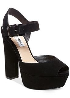 Steve Madden Jillyy Two-Piece Platform Dress Sandals Women's Shoes
