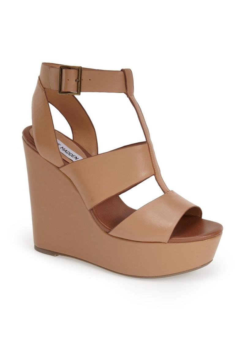 steve madden steve madden keenia wedge sandal