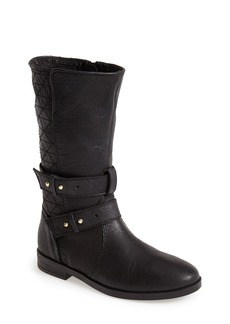 Steve Madden 'Kristenn' Leather Moto Boot (Women)