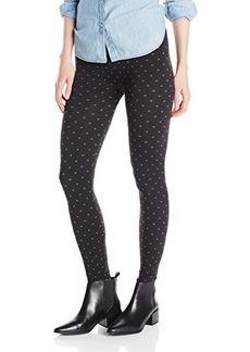 Steve Madden Legwear Women's Dot Fleece Lined Legging