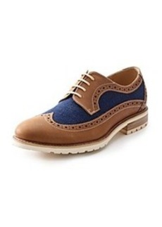"Steve Madden® Men's ""Remaine"" Wing-Tip Oxfords"