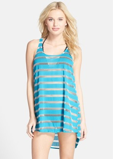Steve Madden Mesh Swim Cover Up