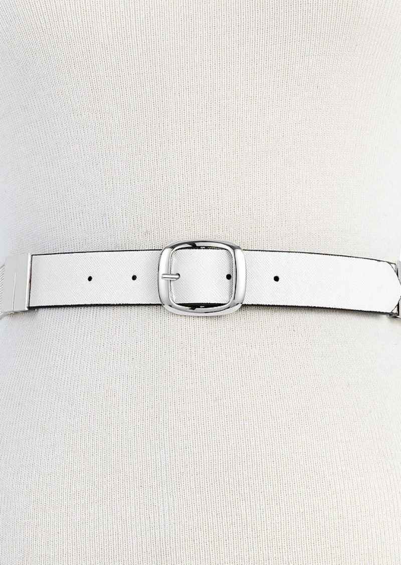 Steve Madden Metal Mesh Reversible Belt