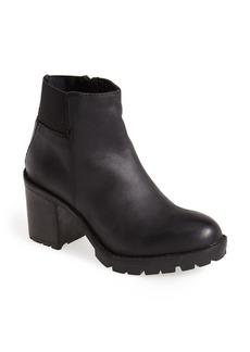 Steve Madden 'Naancy' Leather Platform Bootie (Women)