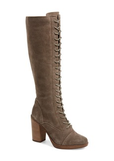Steve Madden 'Nidea' Lace-Up Knee High Boot (Women)