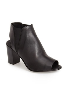Steve Madden 'Nobel' Open Toe Bootie (Women)