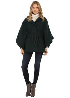 Steve Madden Notch Collar Cape Coat