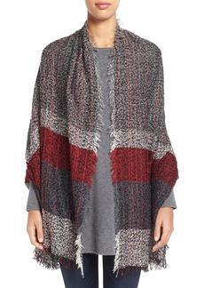Steve Madden Plaid Knit Wrap