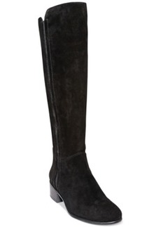 Steve Madden Pull On Suede Tall Boots Women's Shoes