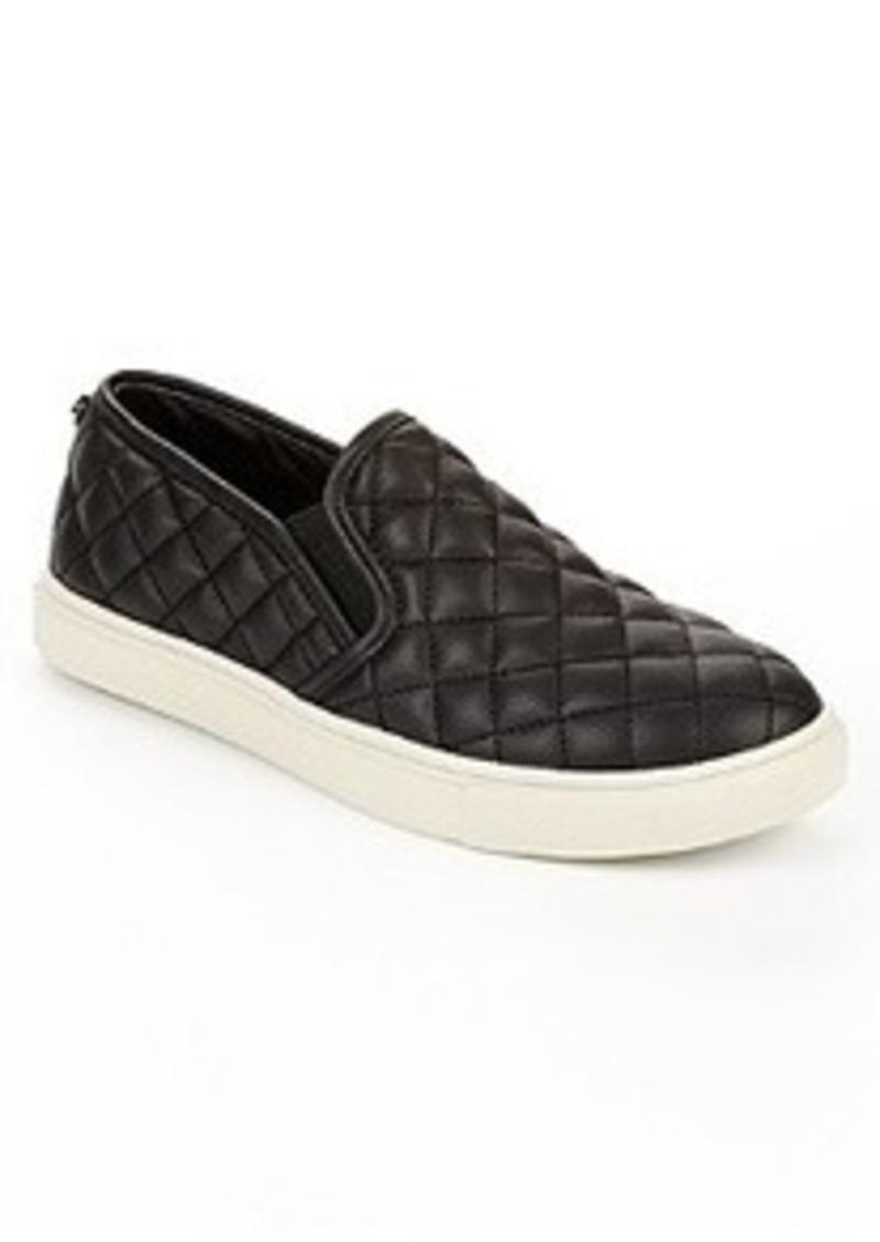 steve madden steve madden quilted slip on flats shoes
