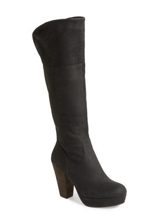 Steve Madden 'Rackey' Leather Platform Boot (Women)