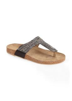 Steve Madden 'Radlee' Embellished Thong Sandal (Women)