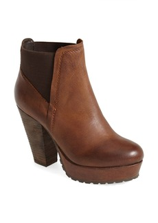 Steve Madden 'Randaal' Leather Platform Bootie (Women)