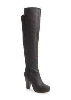 Steve Madden 'Rannsome' Over the Knee Leather Boot (Women)