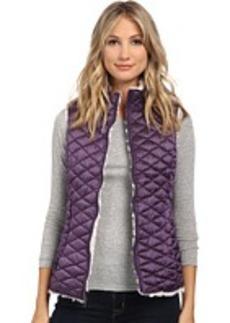 Steve Madden Reversible Glacier Shield-Faux Fur Vest