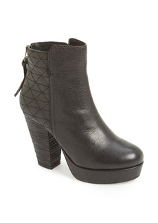 Steve Madden 'Roadruna' Leather Platform Bootie (Women)