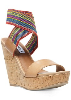 Steve Madden Roperr Platform Wedge Sandals